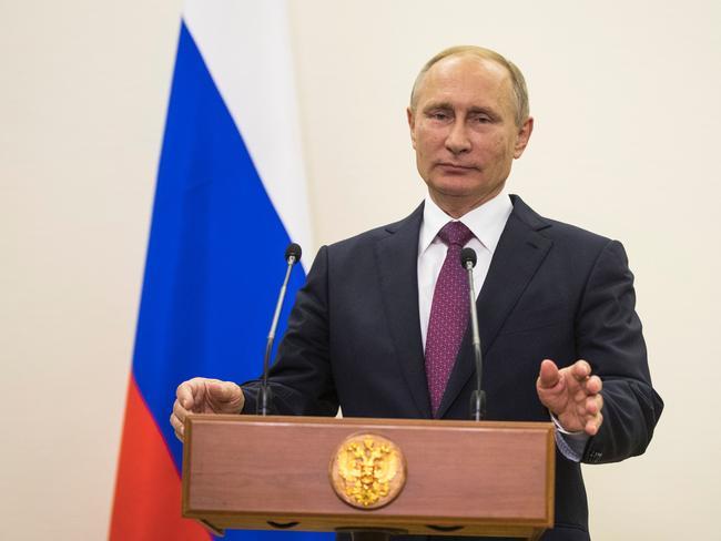 Philippine President Rodrigo Duterte wants to align with Russian President Vladimir Putin. Picture: AFP/ Odd Andersen