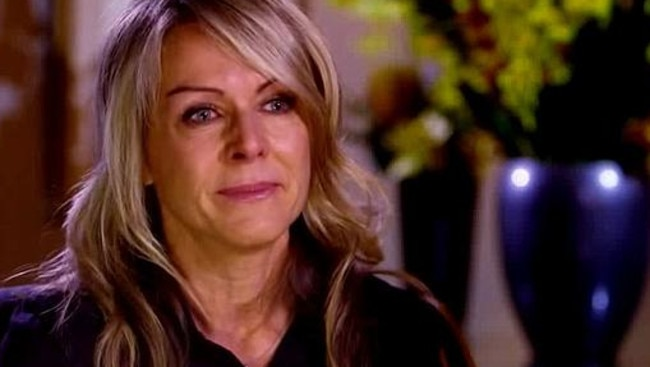 Lorna Jane broke down during her 60 Minutes interview in