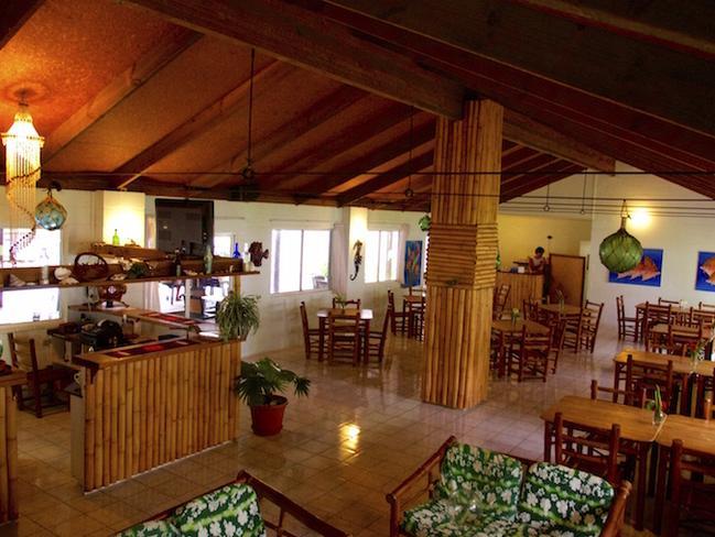 Inside the Beitz family's resort.