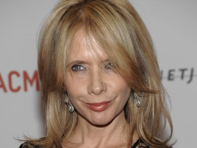 Fellow Weinstein accuser, Rosanna Arquette at the LACMA Resnick Exhibition Pavilion grand opening gala in Los Angeles in 2010.