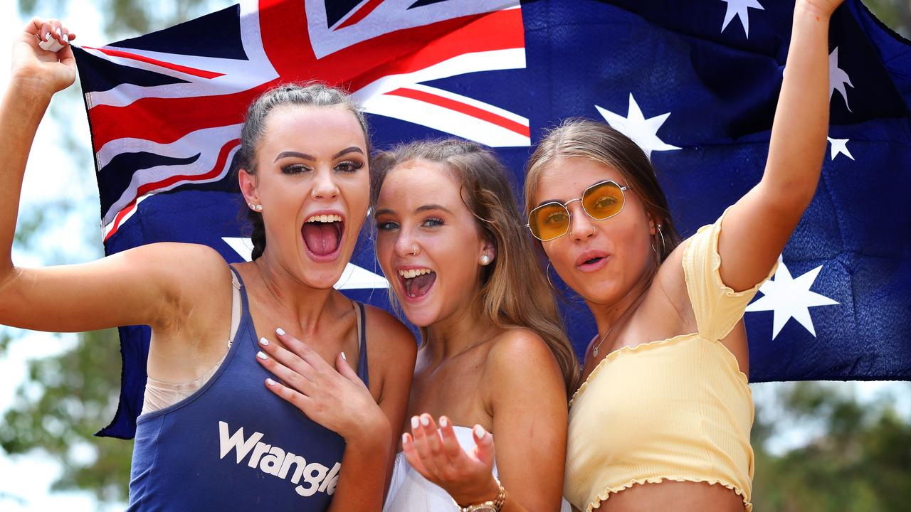 Australia Day in the eastern states could be warm but in most places will likely be milder than Thursday and Friday when highs in the 40s can be expected. Picture: AAP/Angelo Velardo