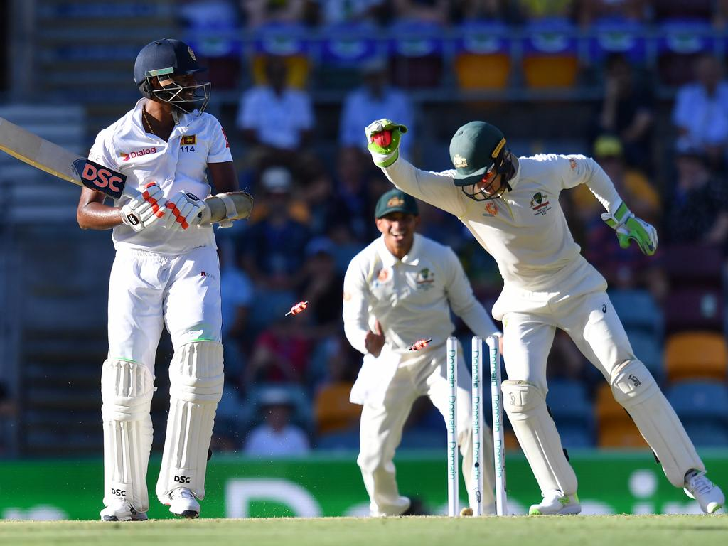 Sri Lanka's woes haven't been helped by the Aussies.