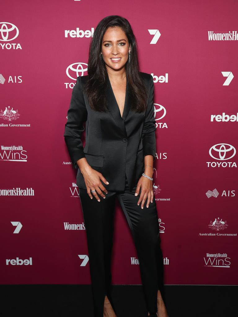 Journalist Mel McLaughlin. (Photo by Brendon Thorne/Getty Images)