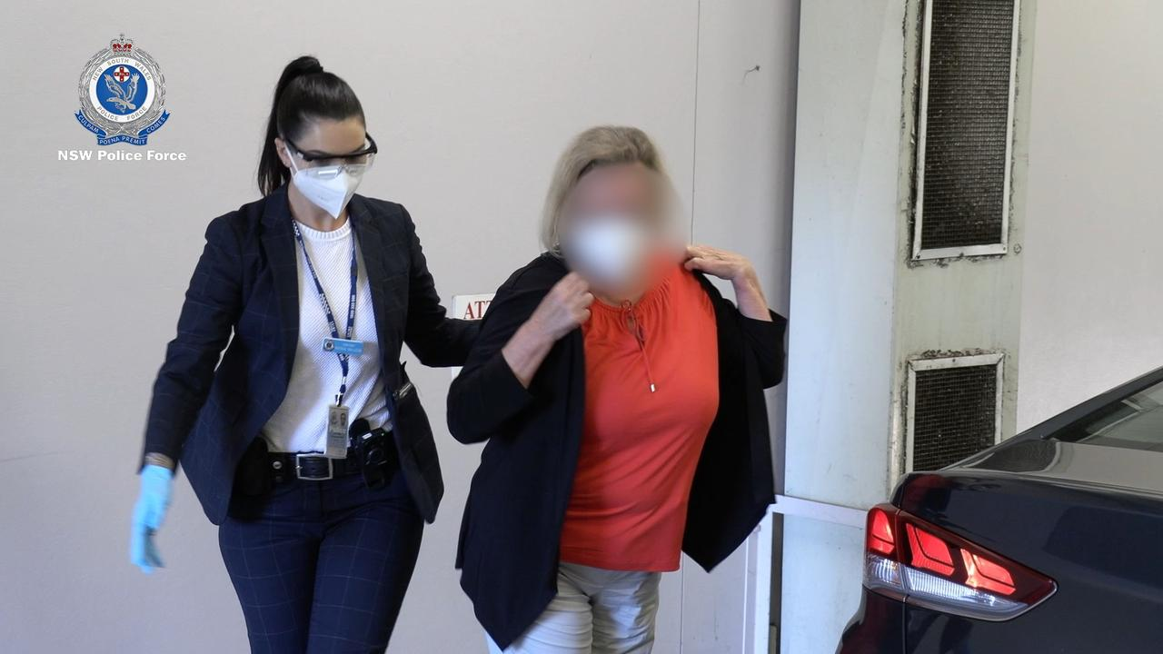 The woman was arrested on Friday morning. Picture: NSW Police via NCA NewsWire