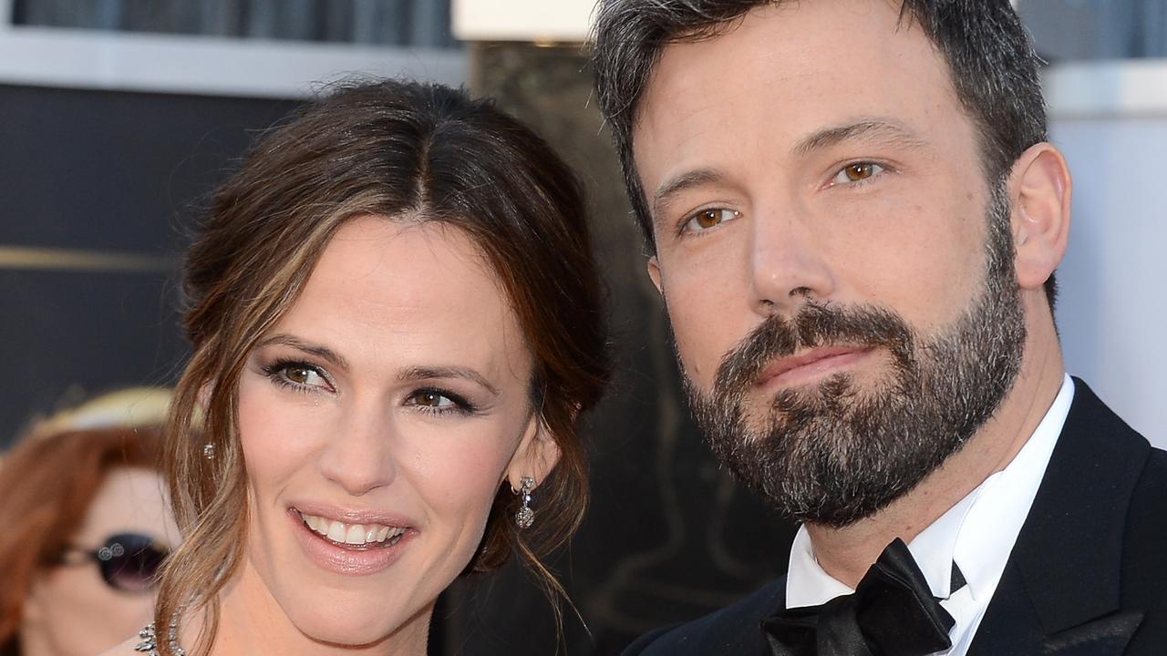 Jennifer Garner and Ben Affleck at the Oscars in 2013. Picture: Jason Merritt/Getty Images