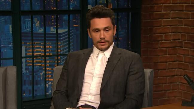 James Franco talks about sexual misconduct allegations with Seth Meyers