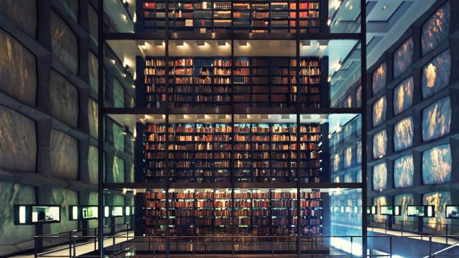 7/34Beinecke Rare Book & Manuscript Library, New Haven, Connecticut, USAOne of the world's largest libraries to focus on rare books and manuscripts can be found at Yale University.