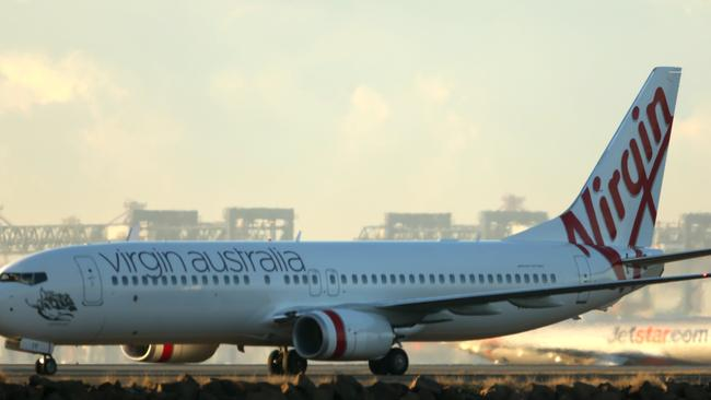 Costly ... Failing to be upfront about booking fees on its mobile site could cost Virgin Australia a lot of money. Picture: John Grainger/News Corp Australia