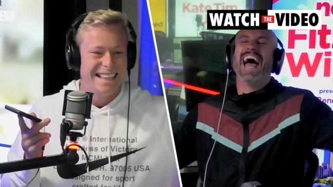 Isaac Heeney pranks mum on live radio
