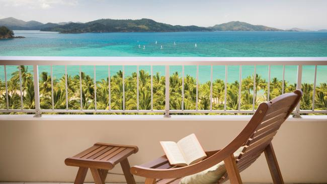 3/5WHITSUNDAYSHoliday on Hamilton Island for five nights and save 25 per cent when you pay from $859 a person at the Reef View Hotel. Get breakfast daily, $150 resort credit, use of water equipment, shuttle service, and return transfers. Travel until June 25, 2021; book by March 31, 2021. Bookings via Viva Holidays Picture: Supplied