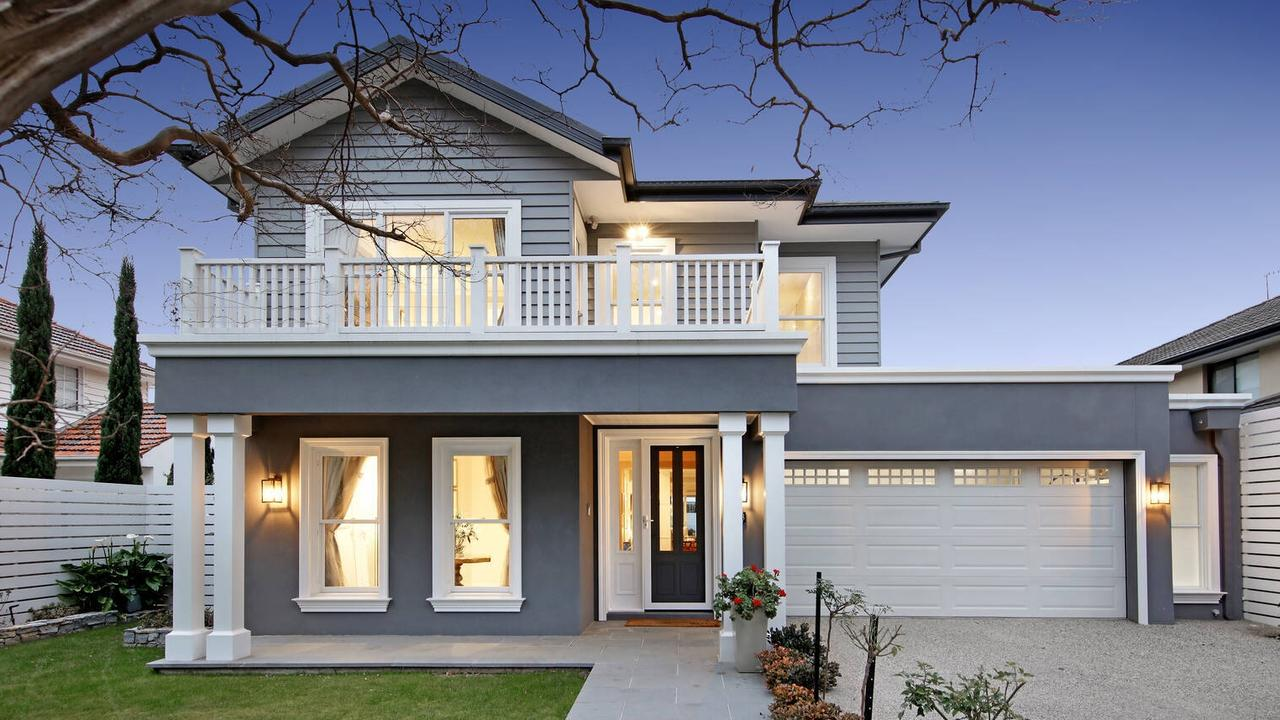 But the facade at 13 Creswick St gives little away of the lavish compound behind it.