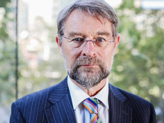 Royal Australasian College of Surgeons president, Professor David Watters, is a huge critic of surgeons who overcharge. Picture Craig Greenhill
