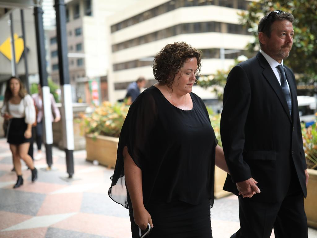 The former NAB chief of staff will return to Victoria before sentencing next year. Picture: NCA NewsWire / Christian Gilles