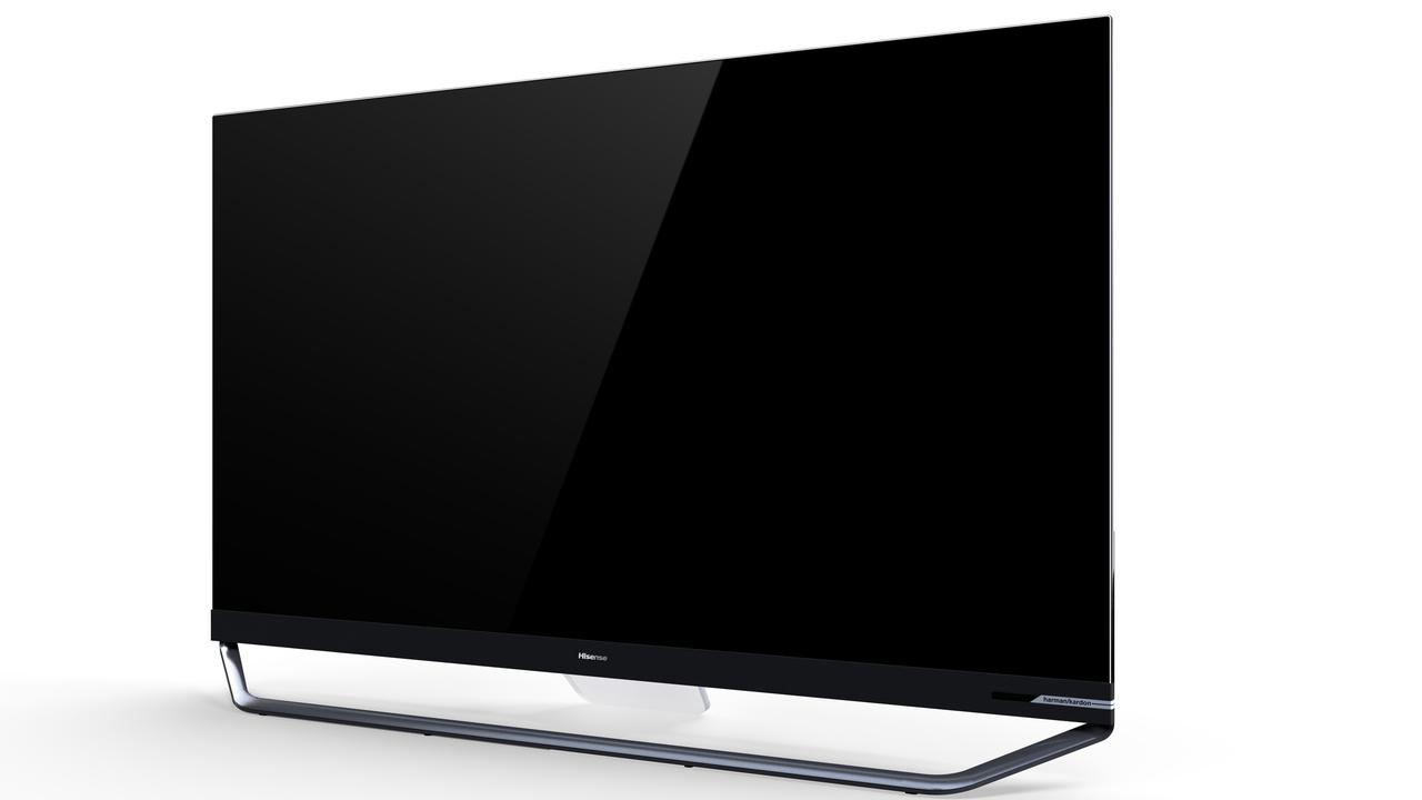 Hisense has gone for a very bright colour spectrum with its ULED technology.