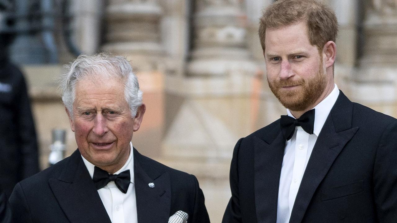 Prince Charles and Prince Harry in 2019. Picture: Niklas Halle'n/AFP