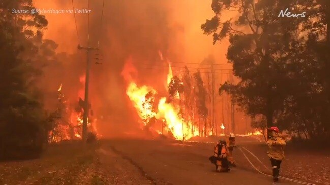 NSW bushfires to make 'very big run' in awful conditions