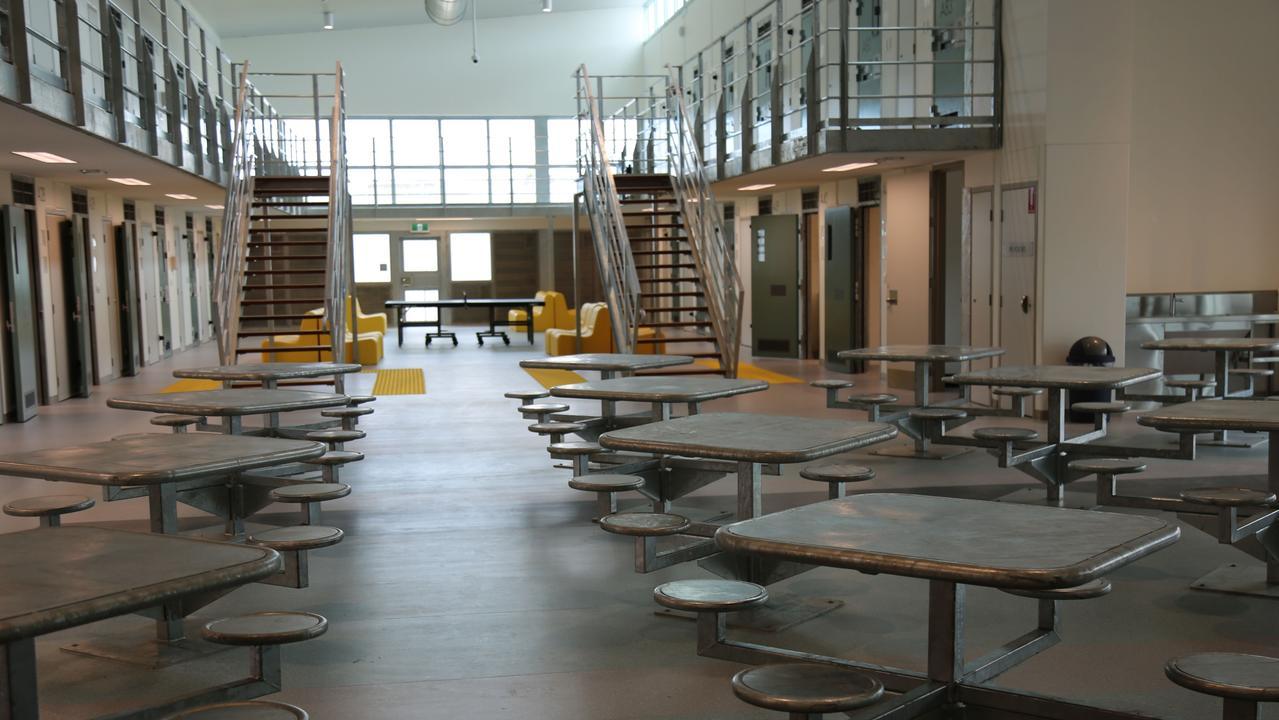 Inside the Parklea maximum security prison wing. Picture: CSNSW