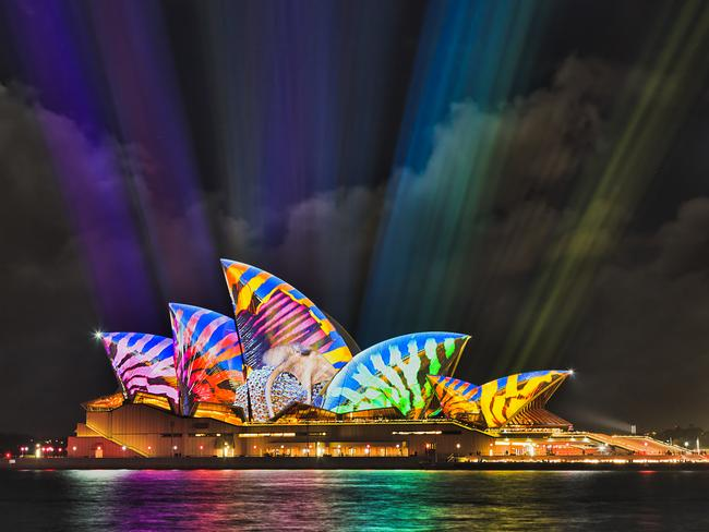 14. CHECK OUT THE OPERA HOUSE In true form, every evening from 6pm the sails of the Sydney Opera House will be illuminated with a dazzling display of lights and colour. This year's design comes from the LA based Andrew Thomas Huang, who will transform the Sails with Austral Floral Ballet.