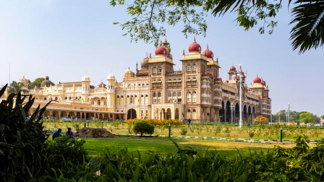 Mysore Palace / Amba Vilas Palace - Mysore, India In a city of seven - count them - palaces, Mysore is the one visitors flock to.