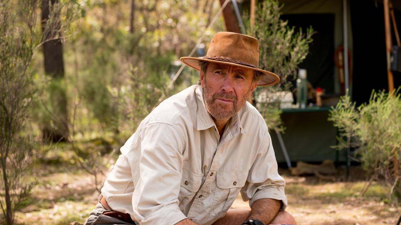 Glenn Robbins in character as Russell Coight.