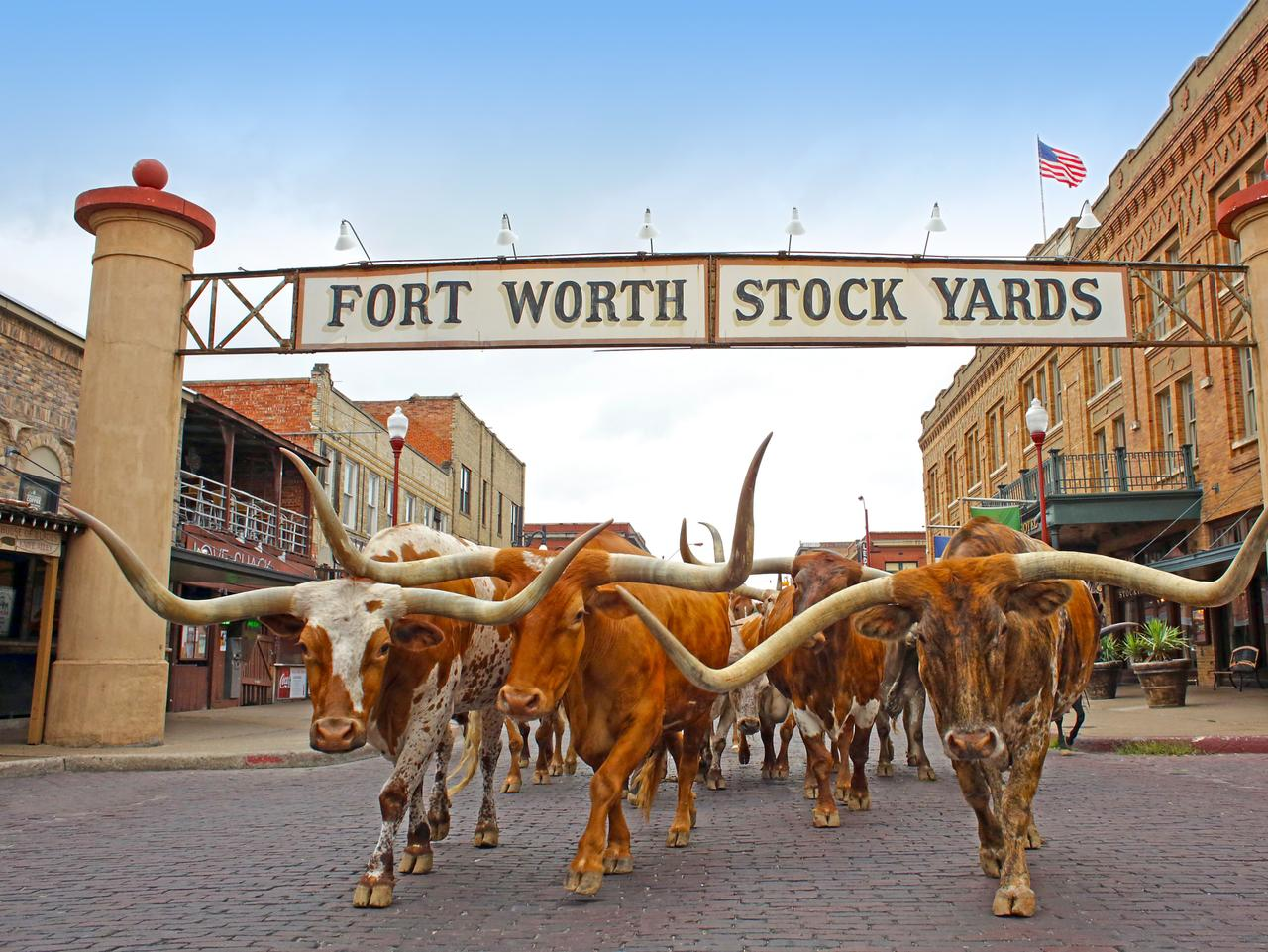 Fort Worth Stockyards. Fort Worth, Texas. Picture: Fort Worth Convention and Visitors Bureau