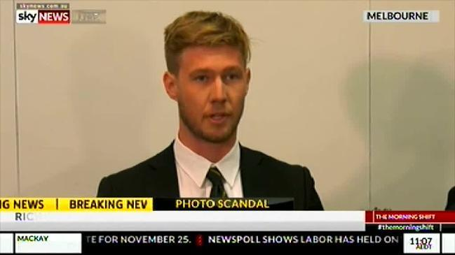 Tough response needed by Richmond, AFL in nude photo text