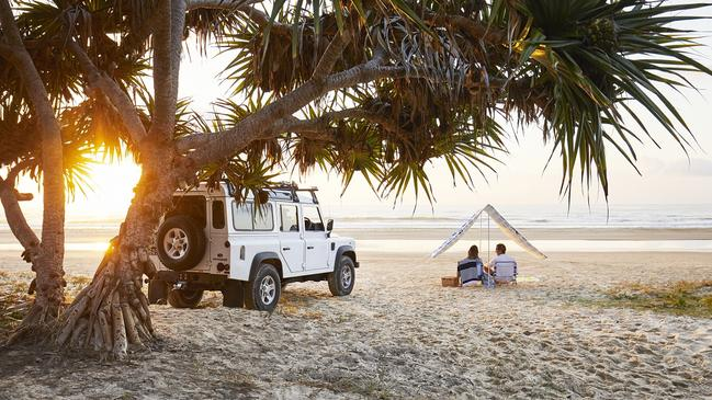 ESCAPE: Campsites with Amazing Views, Dani Wright -  Fraser Island Camping. Picture: Supplied