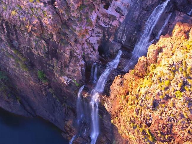 The drone footage will be used to sell Kakadu to the world. Picture: Tourism NT
