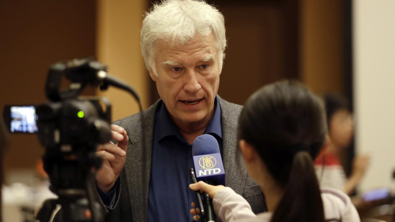 Jeff Widener says it's time for China to come clean about the crackdown. Picture: AP Photo/Marcio Jose Sanchez