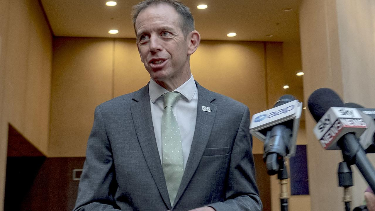 ACT Attorney-General Shane Rattenbury says the independent review will assist in establishing reforms to the territory's minimum age of criminal responsibility, with it set to be increased from 10 to 14. Picture: AAP Image/Luis Ascui