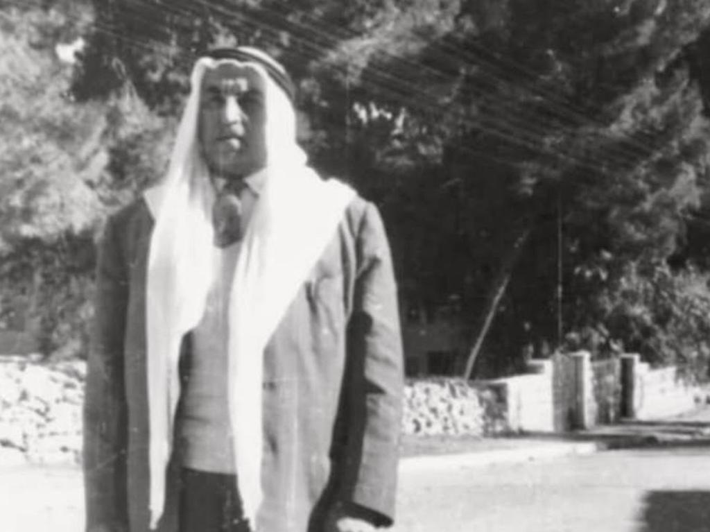 Amin's great grandfather, Kamel Salah.