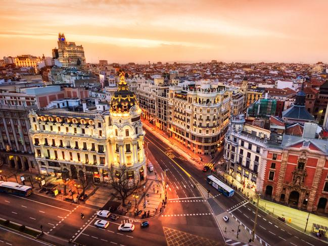 "2. MADRID, SPAIN Spain's biggest city earns praise for ""springing back into step with renewed vigour"", boasting one of the continent's coolest night-time streets, Calle de Ponzano — a strip of standing-only tapas spots and minimalist cocktail joints."