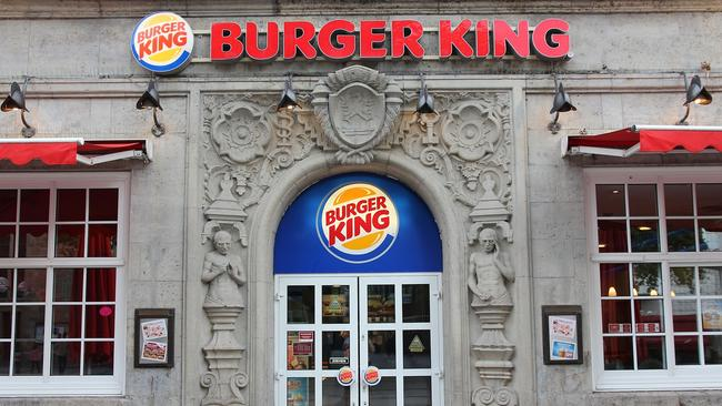 A Burger King restaurant in Dortmund, Germany. Australia is the only country where Burger King operates under another name.