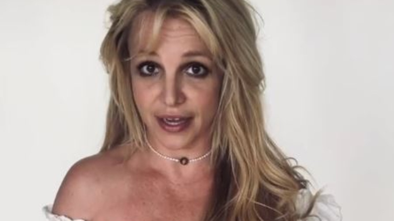 """Britney Spears says she's """"fine"""" amid conservatorship drama and #FreeBritney movement. Picture: Instagram"""