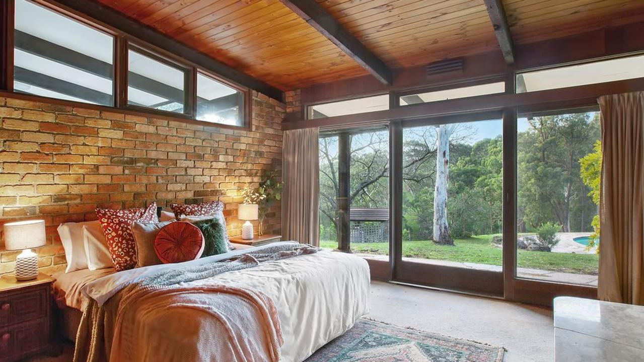 Each bedroom opens to the outdoors.