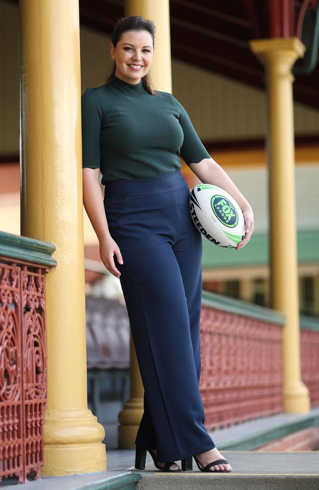 Yvonne Sampson is an integral part of Fox Sports' rugby league coverage. Picture: Brett Costello