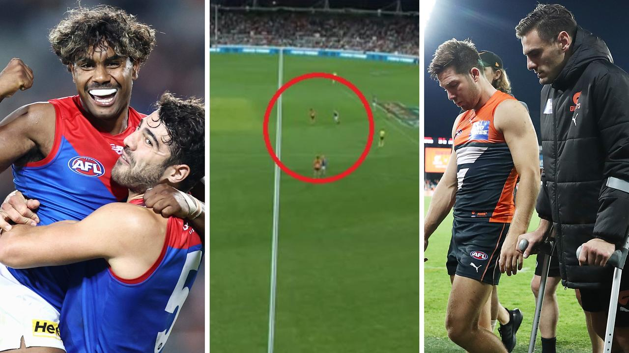 The 3-2-1 from Giants v Demons.