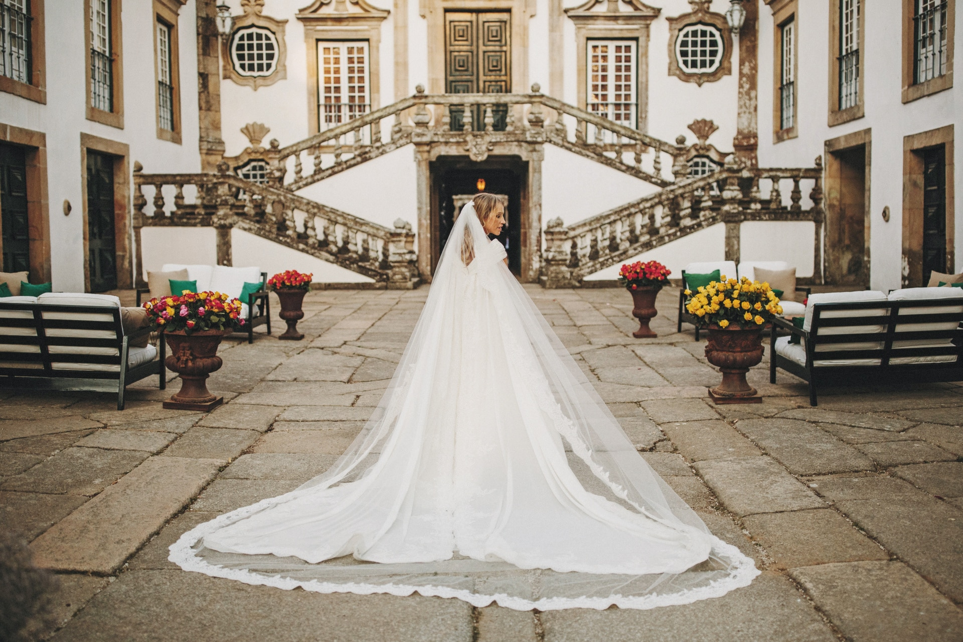 Inside a fashion designer's Portugal wedding