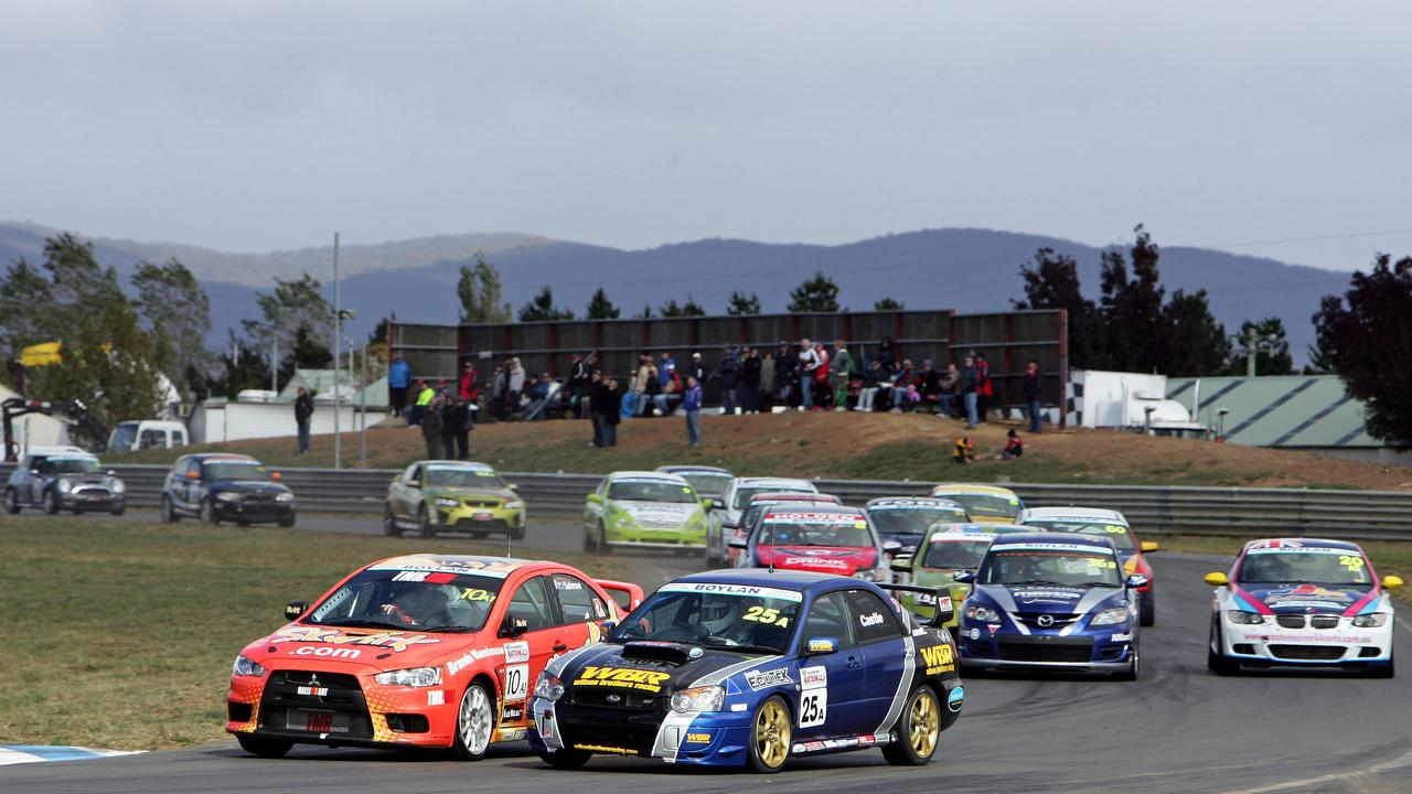 ON TRACK: The rebranded Shannons Motorsport Australia Championship will hit Morgan Park this year. Picture: Nathan Wong // supplied
