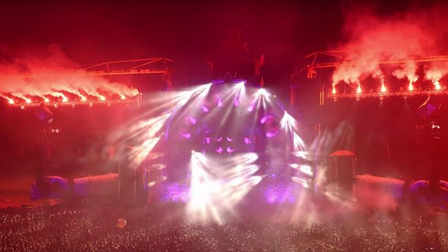 Defqon music festival. Source: YOUTUBE