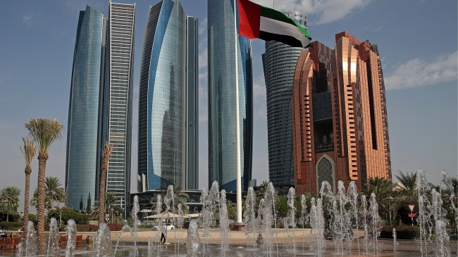 United Arab Emirates capital Abu Dhabi has banned the unvaccinated from attending shops and schools. Picture: Getty