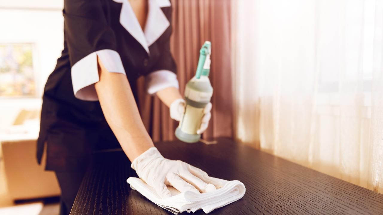 How much would you tip a hotel room cleaner?