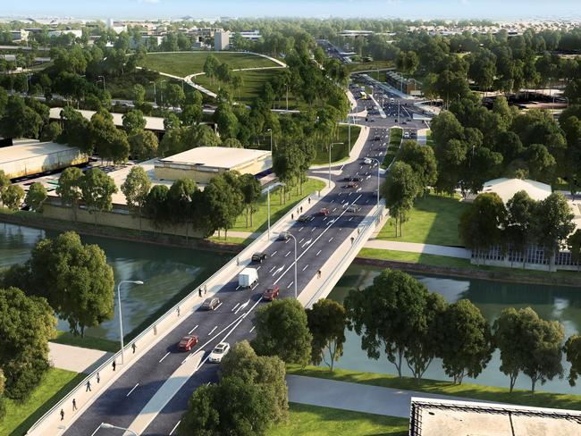 This is what the proposed project is expected to look like when it's complete.