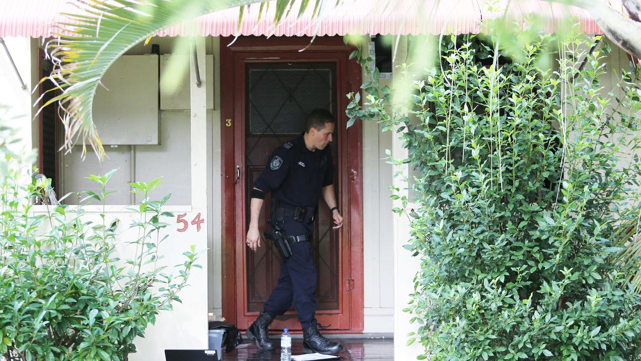 Detectives raided a home on Lambton Road in Waratah. Picture: NCA NewsWire / Peter Lorimer.