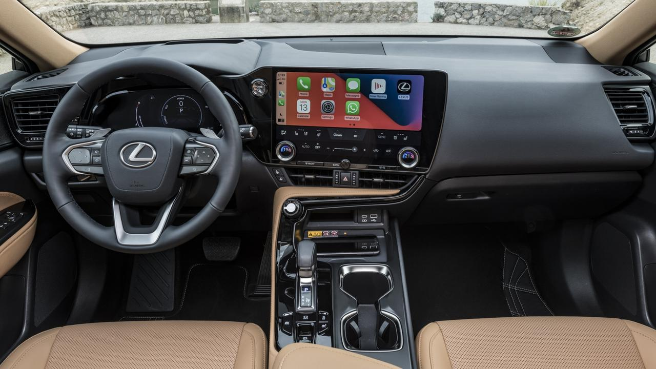 Lexus has made massive upgrades to the vehicle's tech.