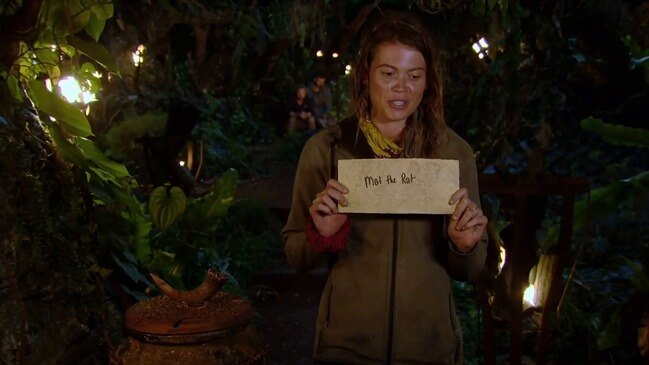 Survivor star Mat's parting words (Channel 10)