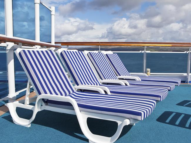 HIT THE DECK It often takes a few hours for luggage to be delivered so pack your bathers, a book, and sunscreen in a carry-on bag, so you can hit the sundeck in the hours between boarding and sail-away.