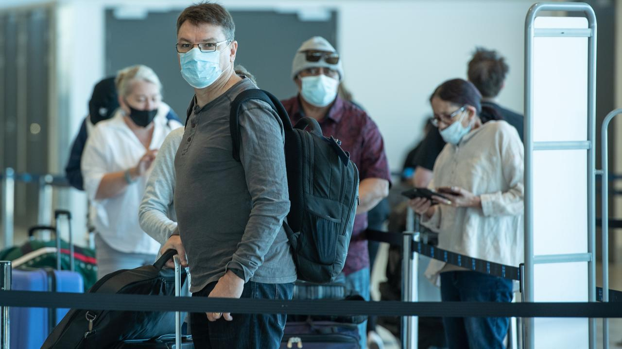 Australia has a strict travel ban in place for residents. Picture: Brad Fleet
