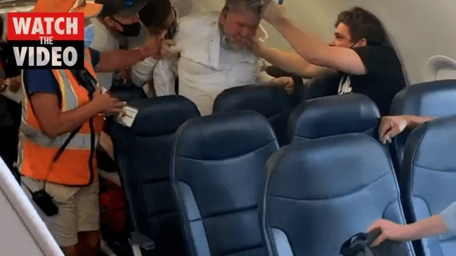 Fight breaks out on flight over face mask