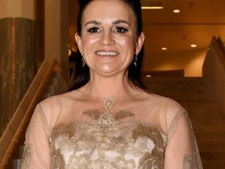 CANBERRA, AUSTRALIA - SEPTEMBER 18: Senator Jacqui Lambie attends the annual press gallery Midwinter Ball at Parliament House on September 18, 2019 in Canberra, Australia. (Photo by Tracey Nearmy/Getty Images)